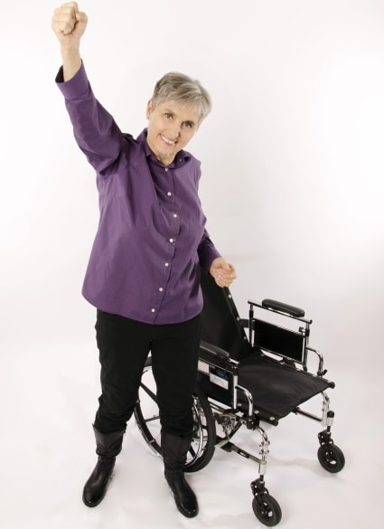 Dr. Terry Wahls is no longer confined to a wheelchair, thanks to a high-fat, low-carb ketogenic Paleo diet. (Photo: Terry Wahls)