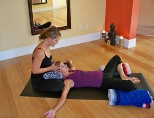 Yoga for Fertility Pose: Partner Goddess Pose