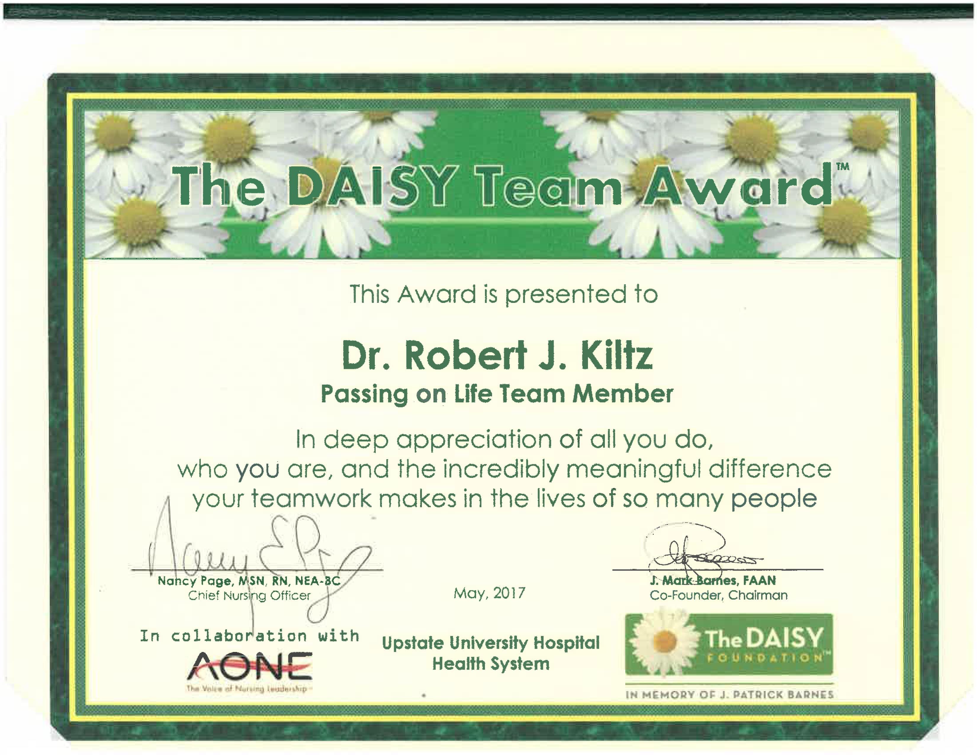 Daisy-Award!