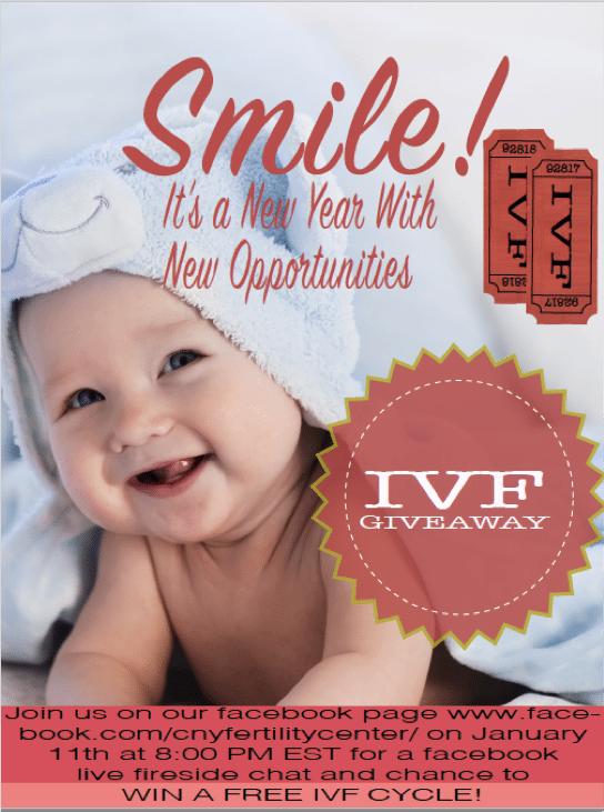 WIN A FREE IVF CYCLE! | CNY Fertility Center