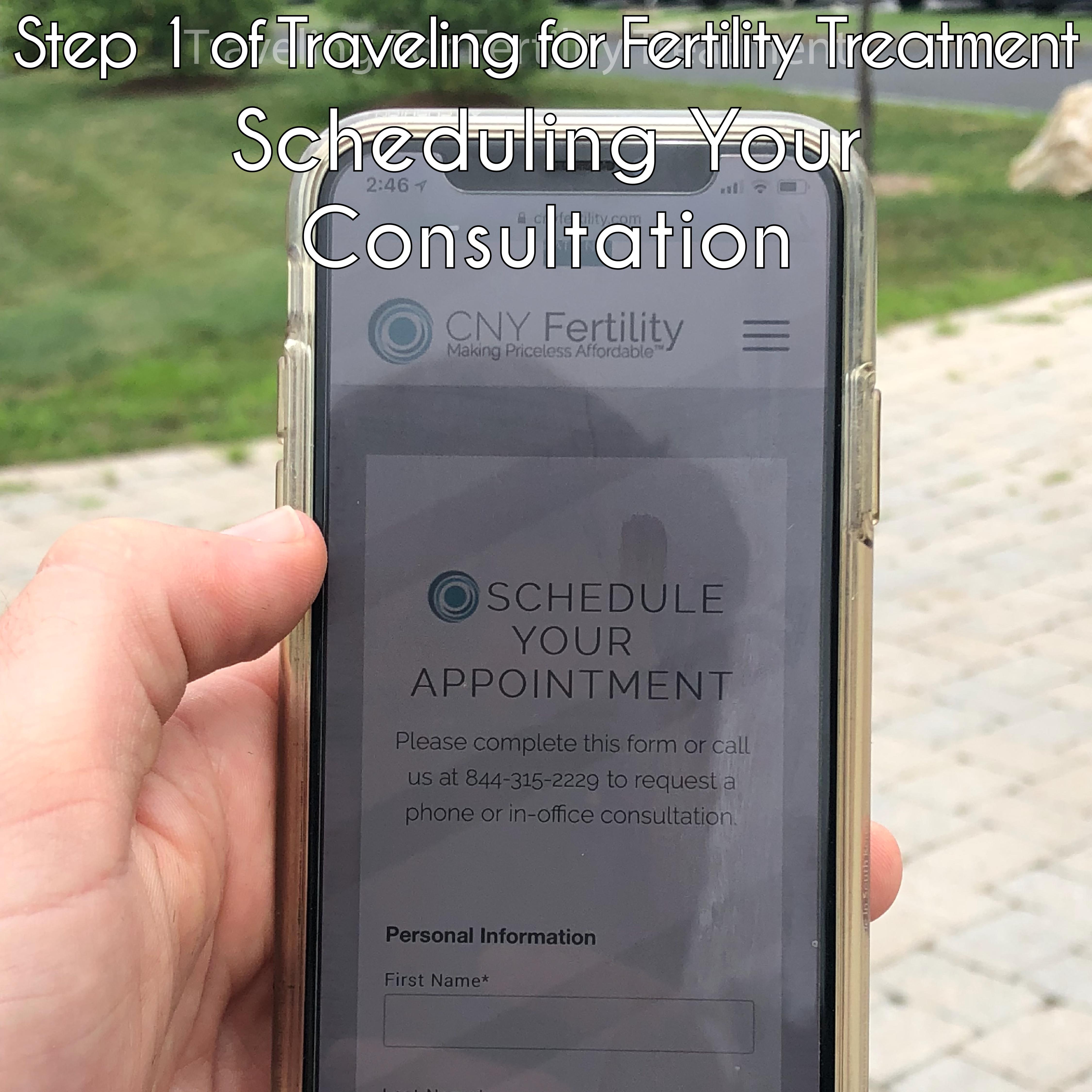 The Ten Steps of Traveling for Fertility | CNY Fertility Center