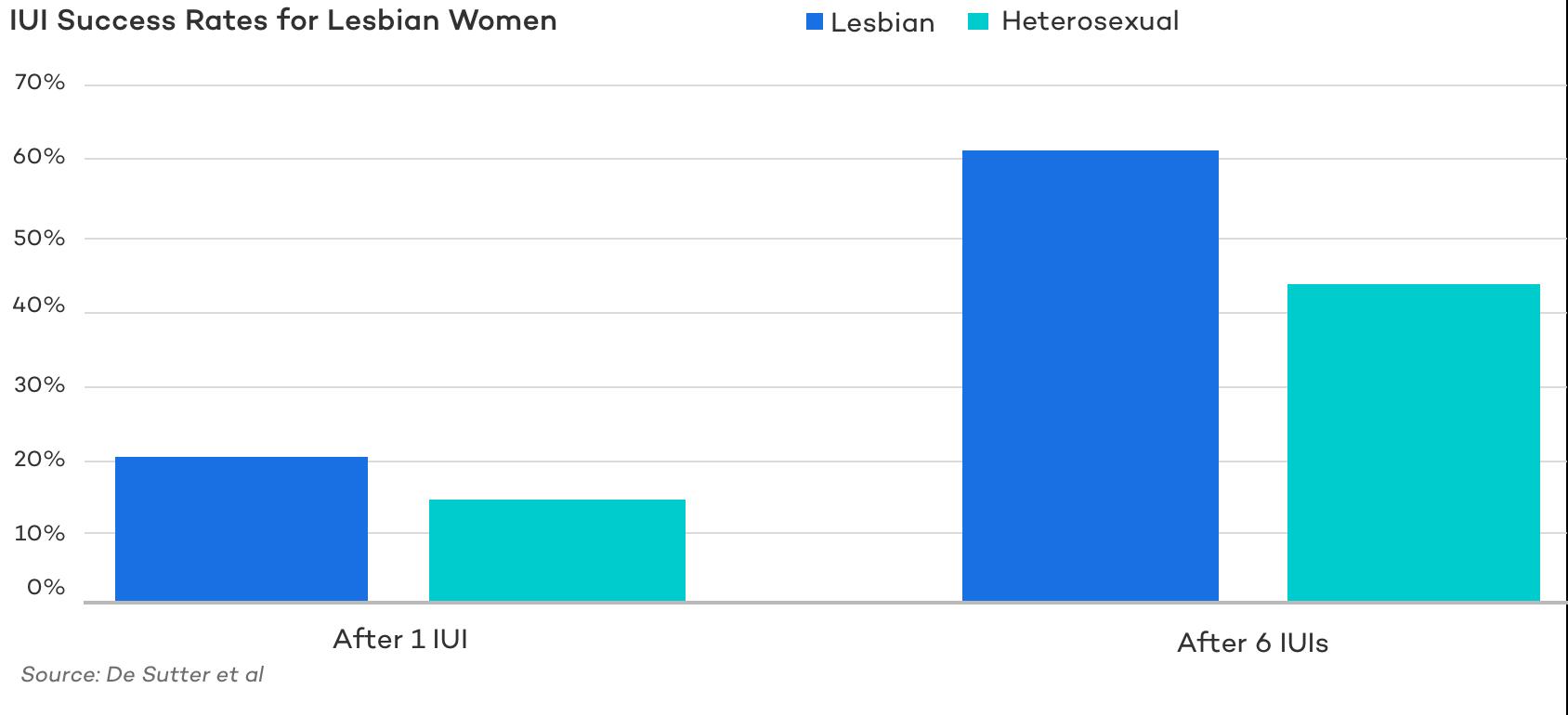IUI success rates lesbian women