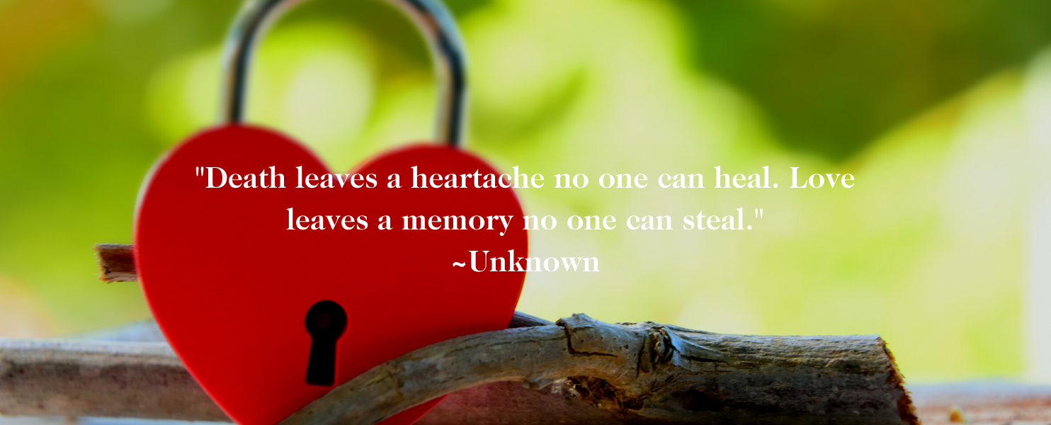 Love leaves a memory quote about healing from miscarriage