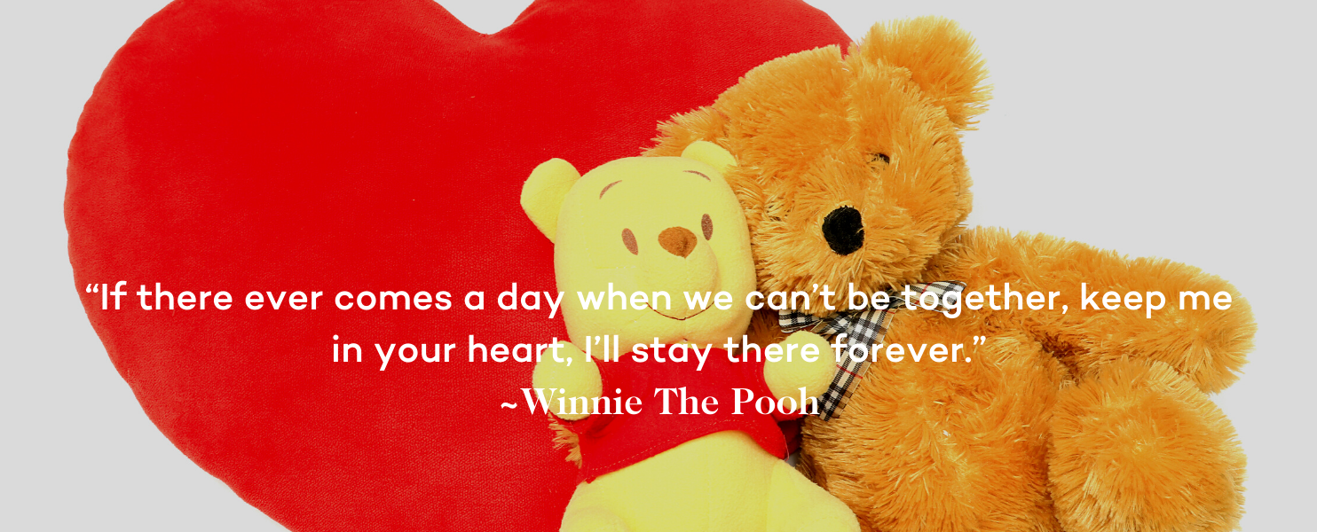 Miscarriage Quote - If there ever comes a day when we can't be together, keep me in your heart, I'll stay there forever (1)