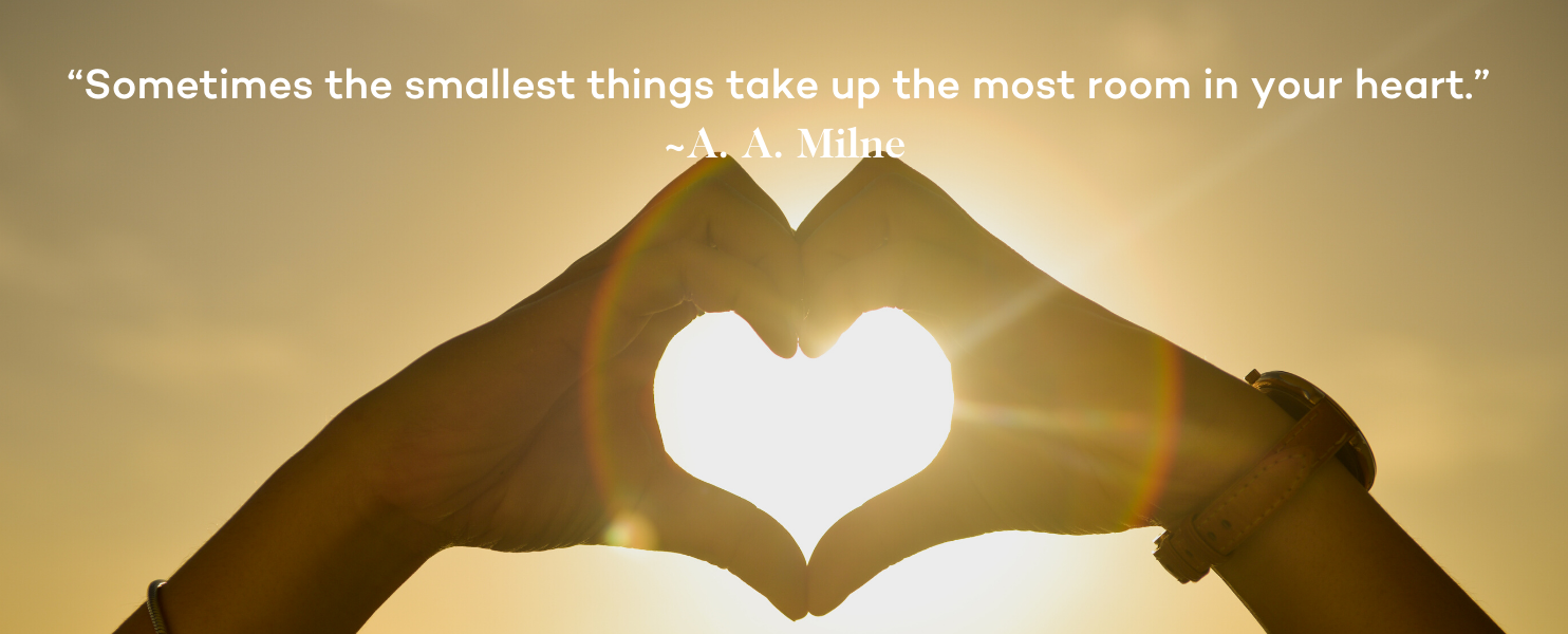 Miscarriage Quotes - A. A. Milne smallest things take most room