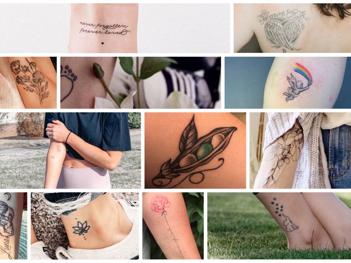 Miscarriage Tattoos A Unique Way To Memorialize Your Angel